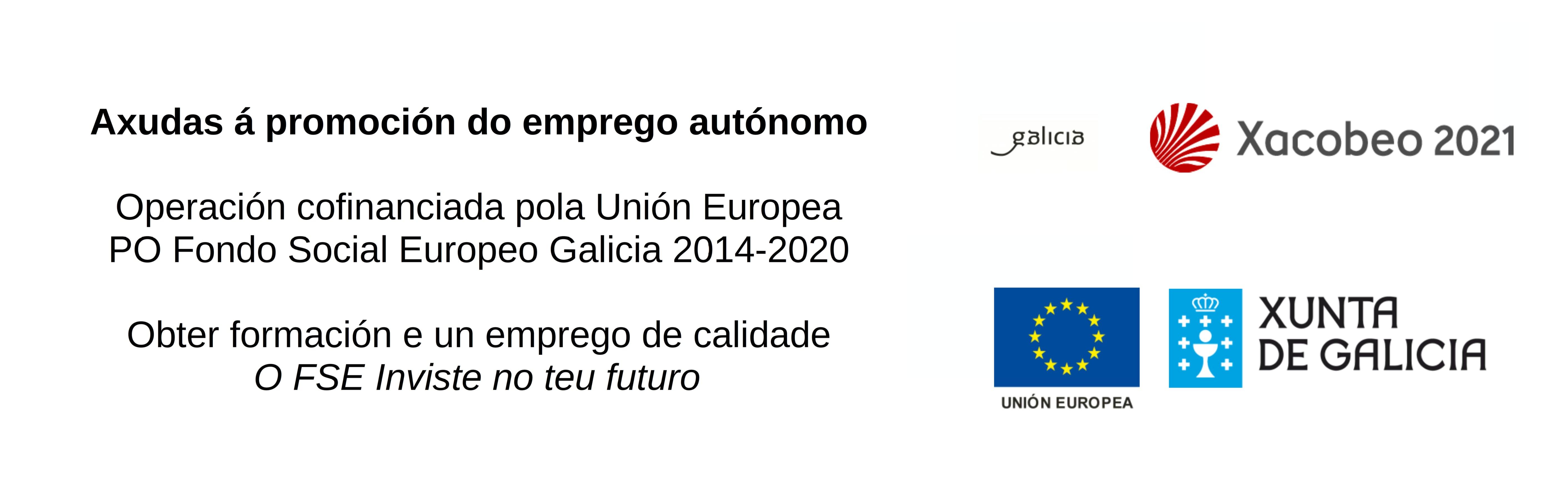 Logo Xunta de Galicia - Logo FSE